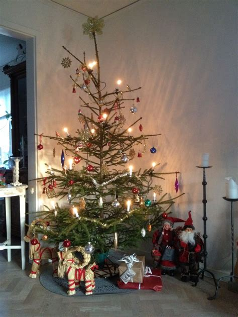 swedish christmas tree jul pinterest