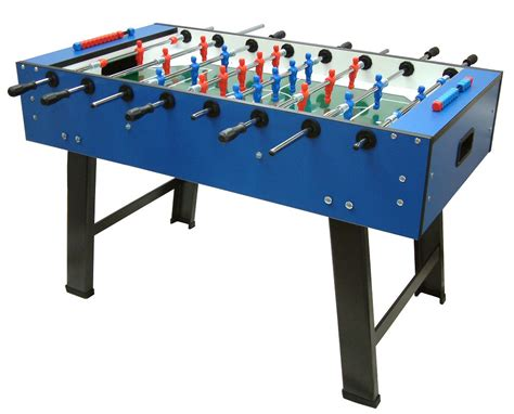 how to a table football fas smile football table in blue