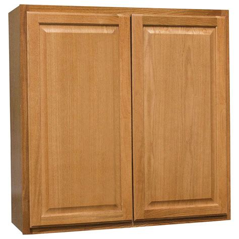 medium oak kitchen cabinets hton bay hton assembled 36x36x12 in wall kitchen