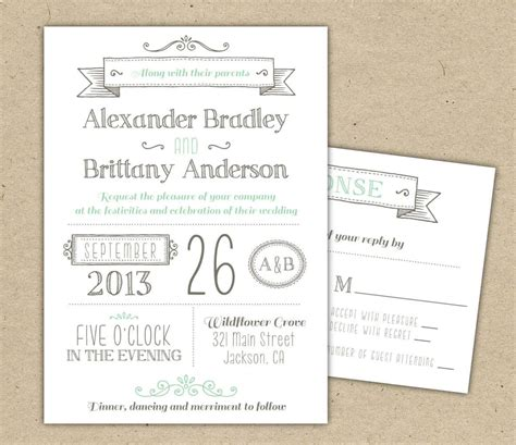Free Printable Wedding Invitations printable wedding invitation templates free printable