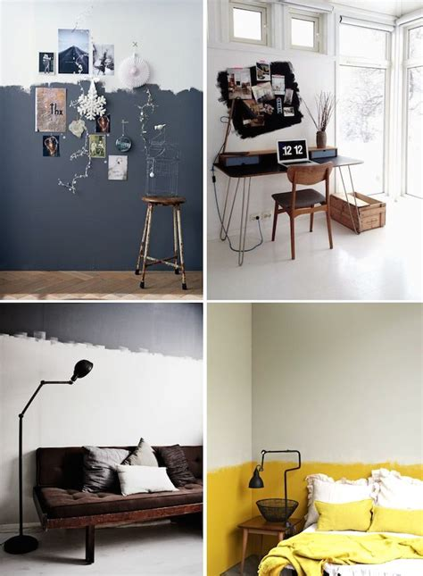 25 best ideas about half painted walls on modern wall paint paint walls and diy