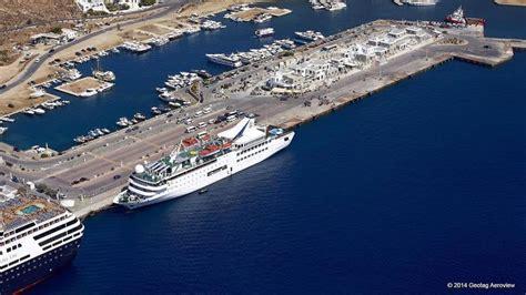 mykonos port ferries from athens to mykonos 2017 danae travel