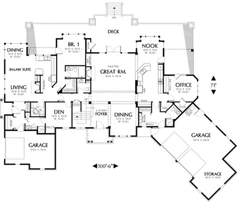 superb home plans with inlaw suites 13 floor plans with