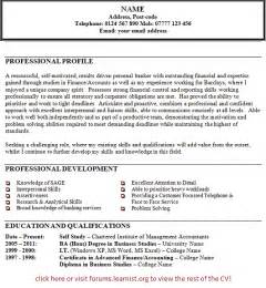 Resume Personal Profile Statement Examples Examples Of Personal Statements Of Faith Images