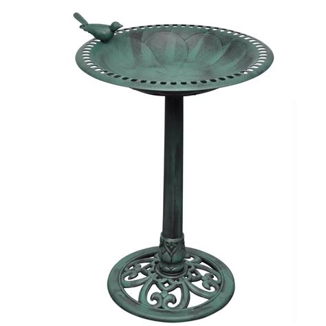 vidaxl co uk bird bath with decorative bird