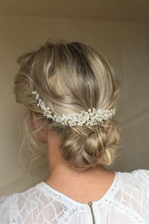 wedding hair accessories pearl wedding pearl and hair vine bridal hair accessory