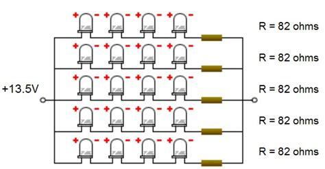 membuat lu led sepeda cara membuat skema rangkaian lu led untuk sepeda motor