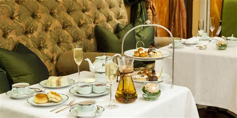 at the luxury afternoon tea the dorchester