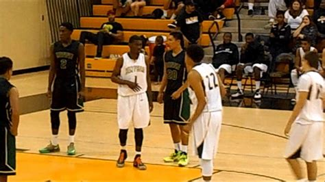 schow and nerbonne san pedro high boys basketball vs narbonne 1 15 2014
