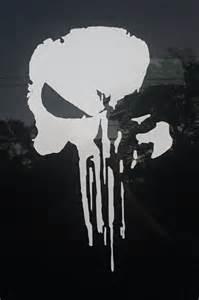 punisher template punisher skull car vinyl inspired from season 2 of daredevil