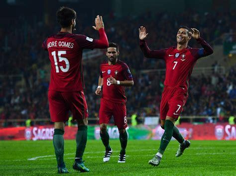 World Cup Portugal andre gomes photos photos portugal v andorra fifa 2018
