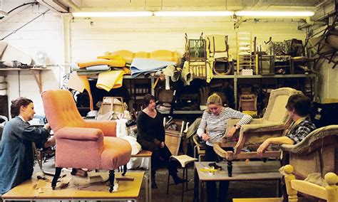 School Upholstery by Living In A Material World Upholstering With The School