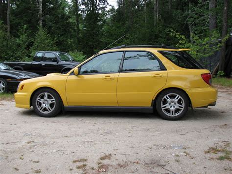 yellow subaru wagon pic request rce yellow springs on an 02 07 wrx wagon nasioc
