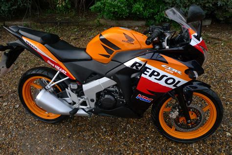 2013 Honda Cbr 125 R C Orange Repsol