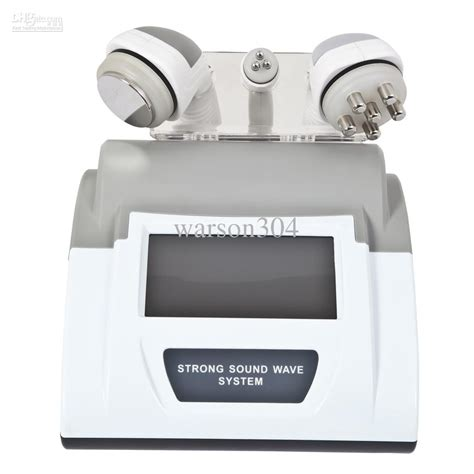 Detox Through Mhz by 3 In 1 Cavitation Rf Slimming Machine With 40khz