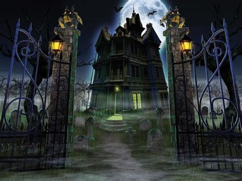 Haunted House by Haunted House Decorations Ideas