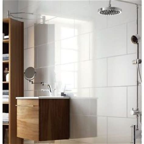 exmoor high gloss large white bathroom and kitchen ceramic wall tile 30x60 ebay