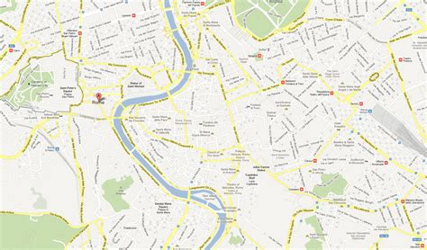 googole maps rome map madmanblog
