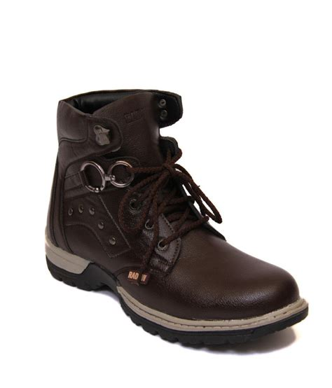 boots for india freedom brown synthetic leather boot for buy