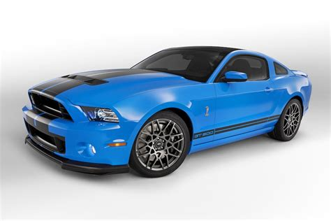 2013 grabber blue mustang gt grabber blue 2013 ford mustang shelby gt 500 coupe