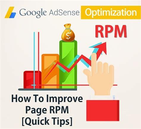 adsense rpm 8 best ways to increase page rpm 2018 google adsense