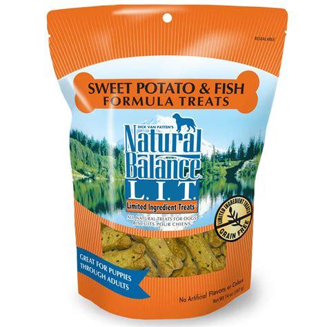 puppy formula petco balance l i t limited ingredient treats sweet potato fish formula