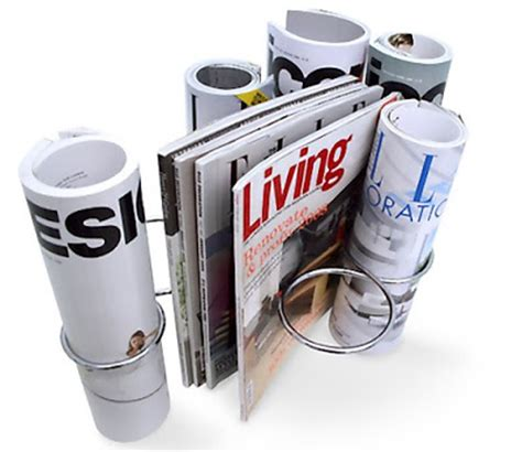 Cool Magazine Racks by 15 Cool Magazine Holders And Creative Magazine Racks Part 2