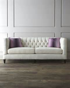 tufted sofa quot fulton quot tufted sofa