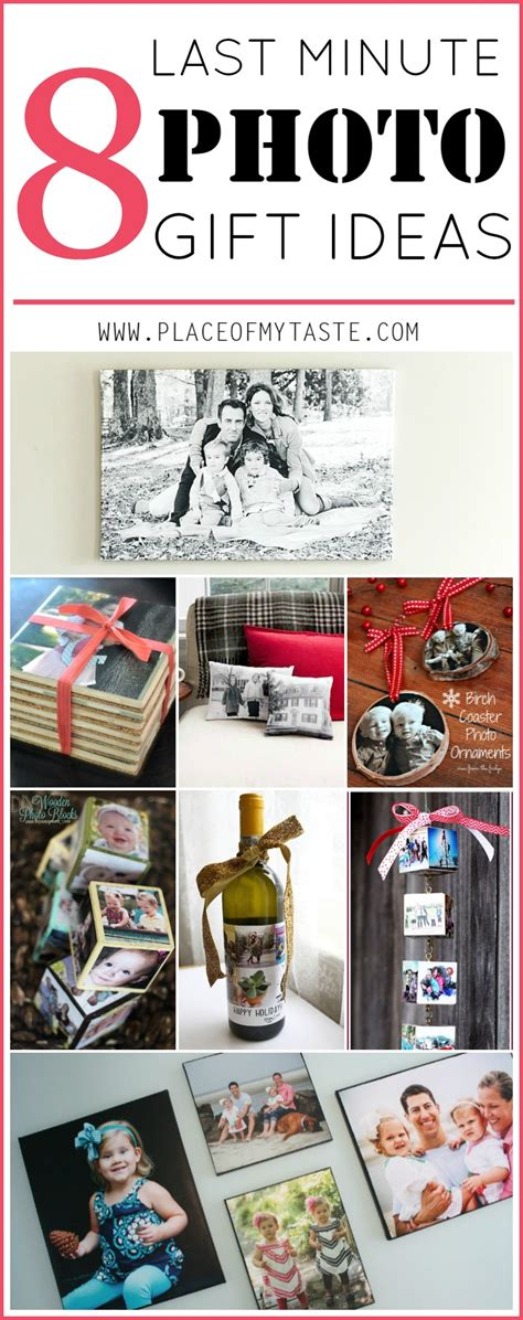 last minute gift ideas 8 last minute photo gift ideas