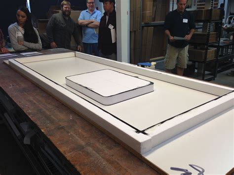 Gfrc Countertops by Fiber Reinforced Concrete Countertop Demonstration