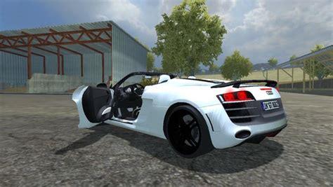 Audi R8 Spider v 1.1 [MP] ? Farming simulator 2013 Mod BestMods.net