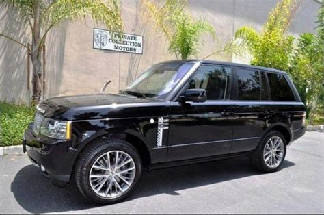 manual cars for sale 2011 land rover range rover seat position control 2011 land rover range rover autobiography for sale in corona ca