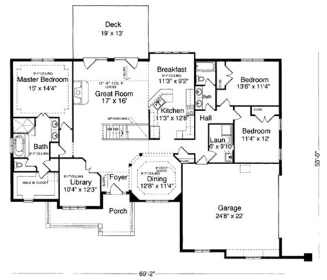 house plan 98618 at familyhomeplans