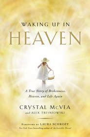 heaven books book review waking up in heaven by mcvea and