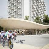 news vanken bike pavilion by nl architects news archinect