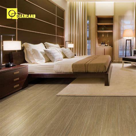 cina nyaman kamar tidur keramik ubin lantai kayu pola