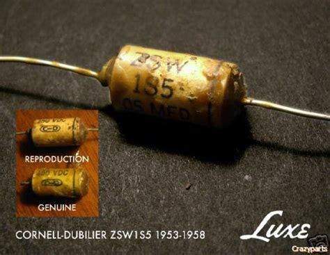 luxe capacitor guitar luxe guitar capacitors 28 images 1956 1960 matched