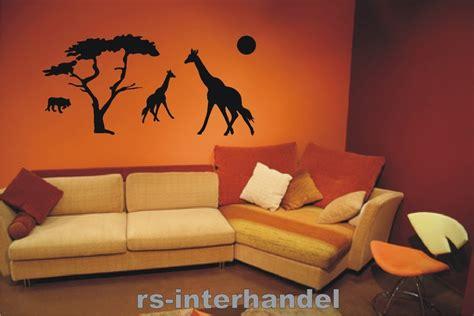 afrika wohnzimmer wandtattoo afrika 106 beliebte wandsticker aufkleber deko