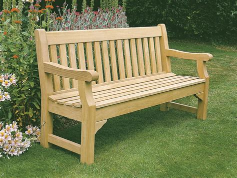 hardwood garden bench memorial commemorative benches seats schools parks