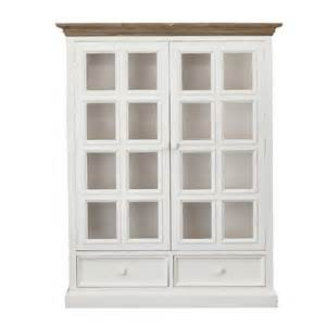 White Display Cabinet With Glass Doors Australia Mansfield 2 Door Display Cabinet White