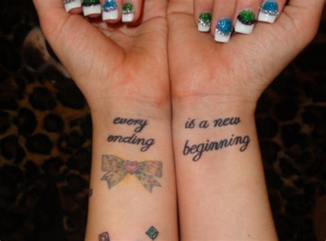 new beginning tattoos every ending is a new beginning s