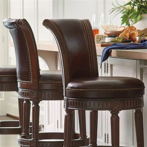 Frontgate Manchester Swivel Bar Stool by Manchester Swivel Bar Height Bar Stool 30 Quot H Seat