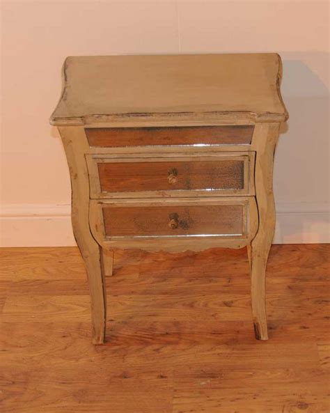Mirrored Table L Mirrored L Bedside Table Shabby 28 Images Cabinet Shabby Chic Cabinet Mirrored Bedside Table