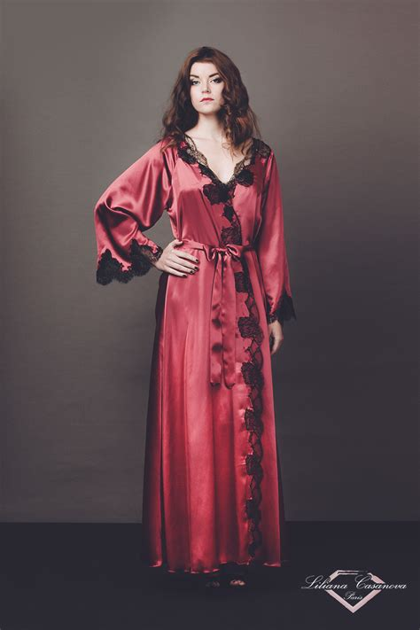 dressing gown dressing gown et nightdress set gr 226 ce liliana casanova