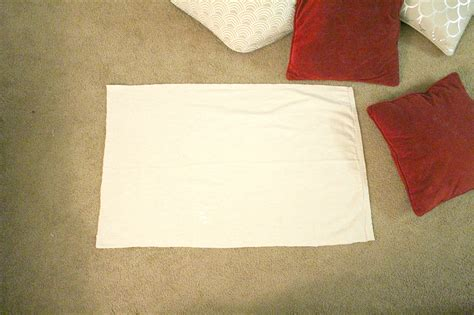 Fabric To Recover Diy No Sew Pillow Recover