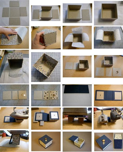 25 best ideas about diy trinket box on diy