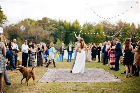 Backyard Wedding Florida A Boho Eclectic Backyard Wedding Every Last Detail