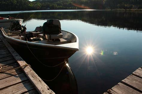 fishing boat and motor packages fishing trips at lost lake wilderness lodge ontario s