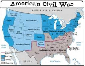 war between the states american civil war and