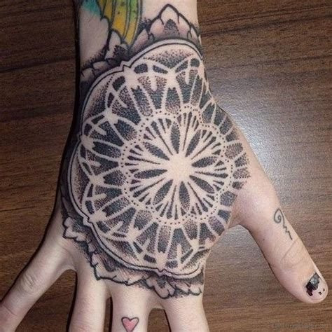 tattoo hand pattern 50 great looking mandala tattoos on hand